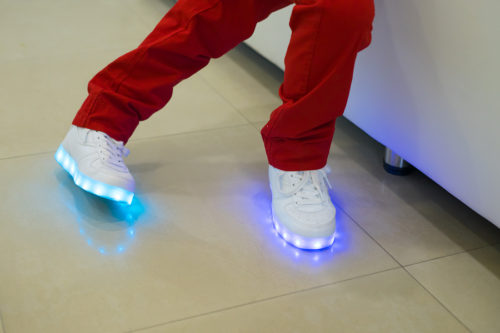 LED Schuhe - Leuchtende Schuhe